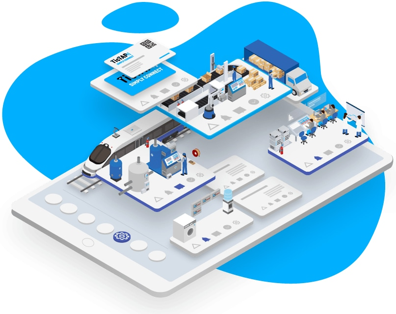 TiTAP - Platform for management of traceability, management and control of assets, facilities and team